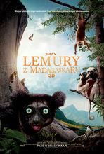 Movie poster Lemury z Madagaskaru 3D