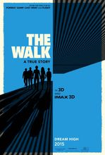Plakat filmu The Walk. Sięgając chmur