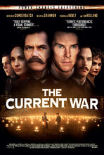 Plakat filmu Wojna o prąd