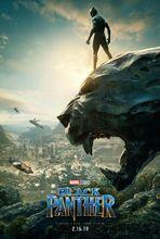 Plakat filmu Czarna pantera