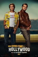 Plakat filmu Pewnego razu... w Hollywood