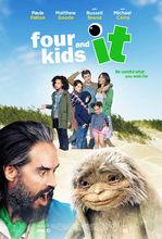 Movie poster Czworo dzieci i coś