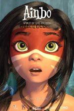 Plakat filmu Ainbo - strażniczka Amazonii