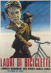 Plakat filmu Złodzieje rowerów